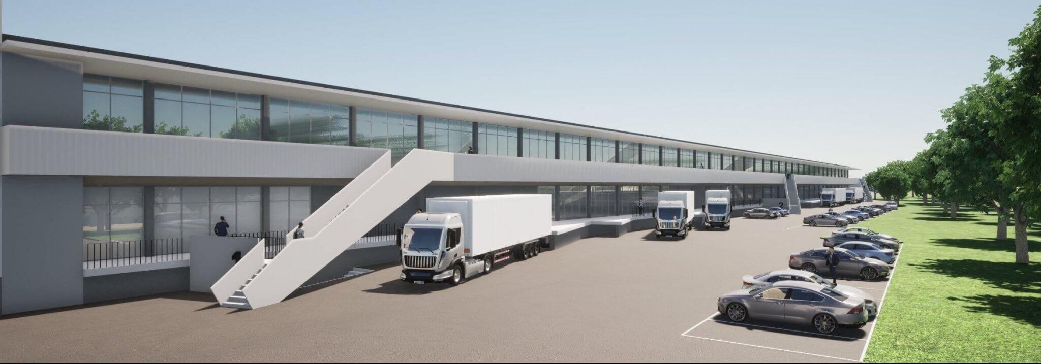 Neues Projekt: Neugestaltung der ehem. OSRAM Logistik zum modernen Gewerbepark