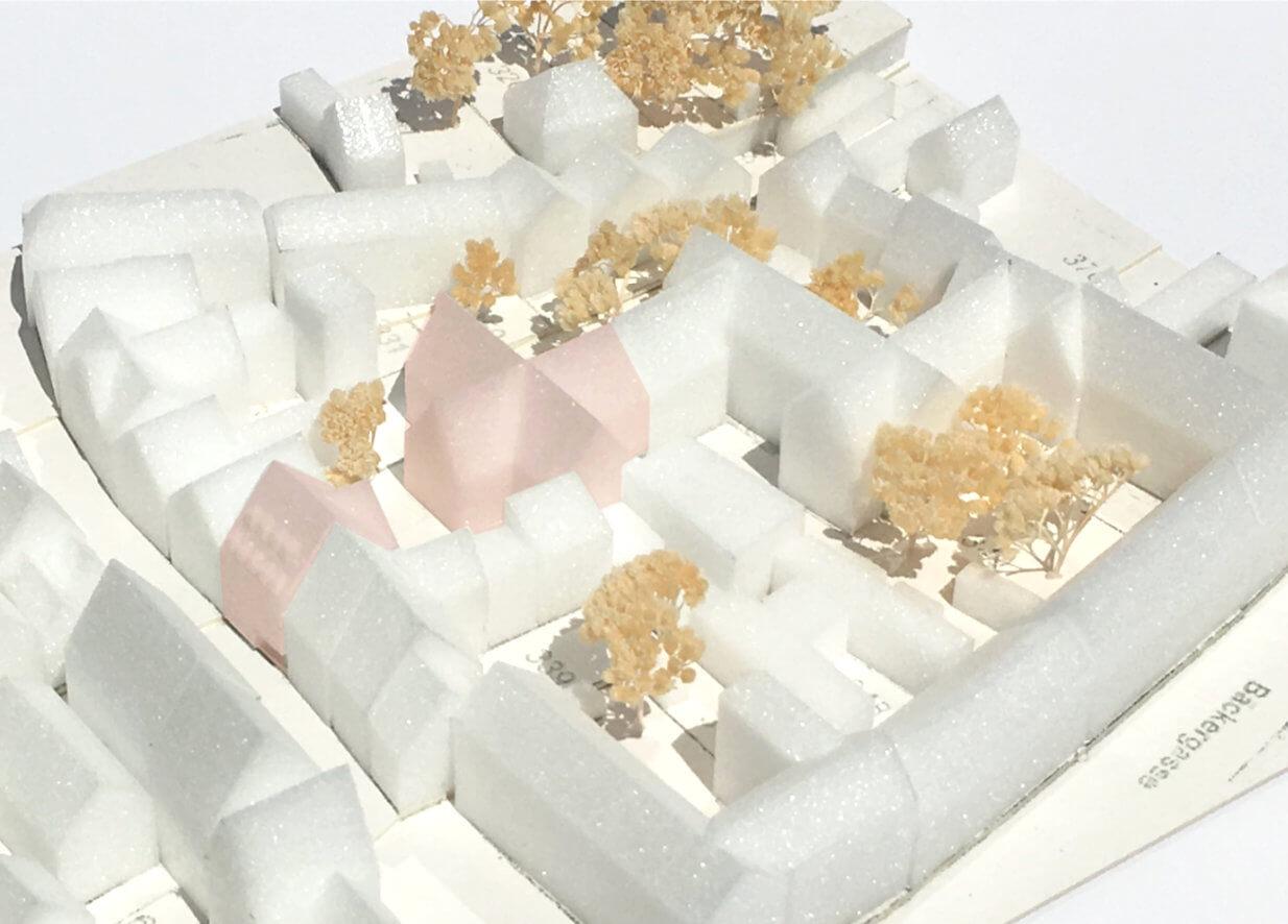Wohnen am Milchberg Modell